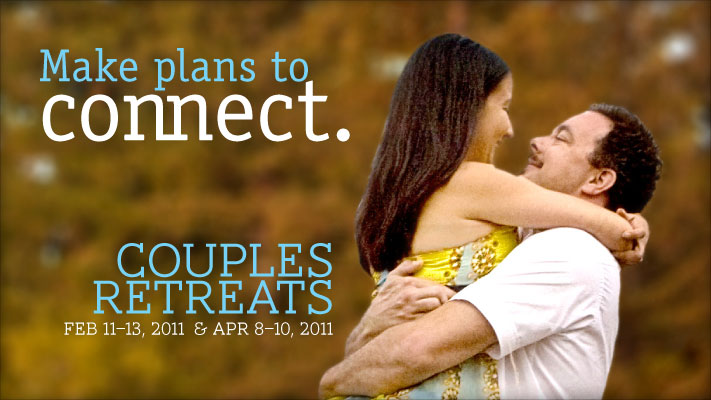 Make Plans To Connect Couples Retreat