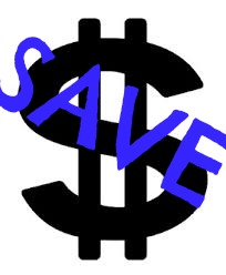 dollar sign with Save