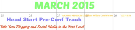 March 2015 Blogging Track