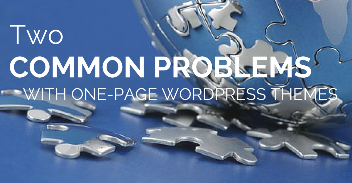 Two-common-problems-with-one-page-WordPress-themes Photo
