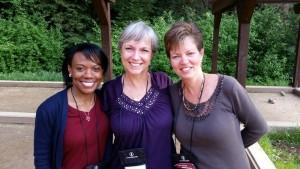Stacy Hawkins Adams, Eileen Kasakabe, and Lynn Vincent