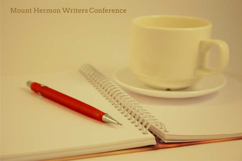 pen, notebook, and coffee for writers